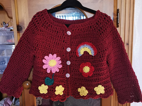 Age 1/2 cotton cardigan