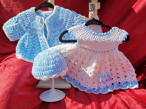 Butterfly dress set