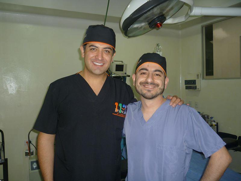 dr.Alfredo Hoyos y dr.Nelson Obregón