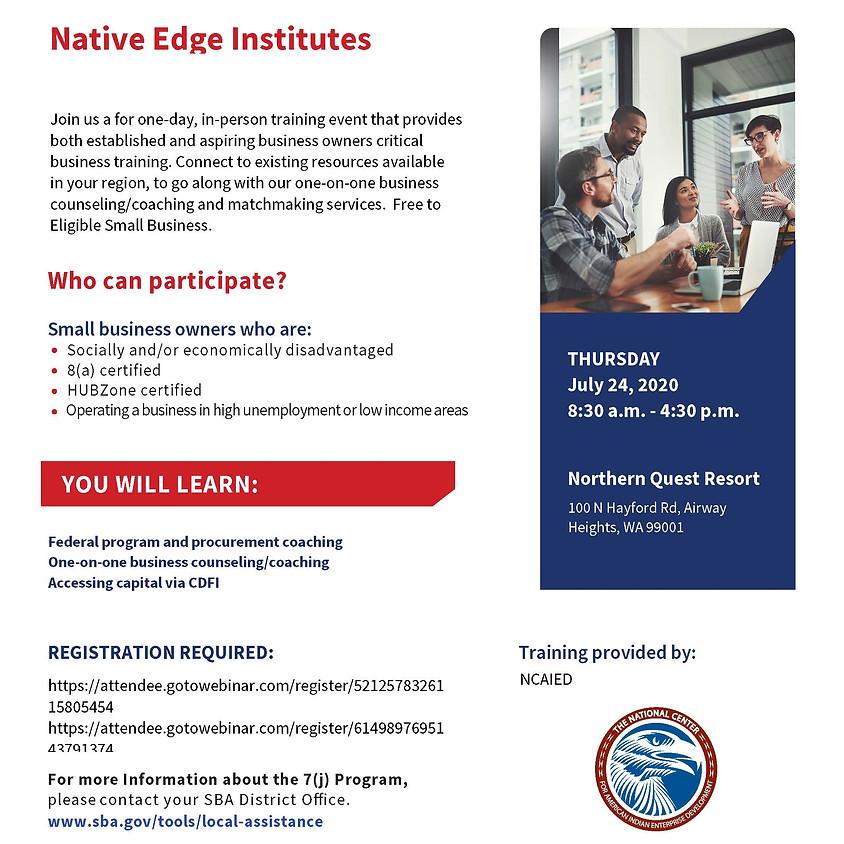 Native Edge Institute - Spokane
