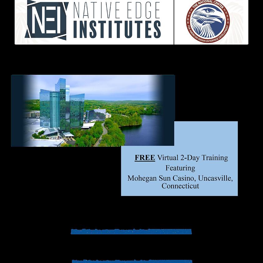 Native Edge Institute - Connecticut Option B (10:00 PM  – 12:30 PM EDT)