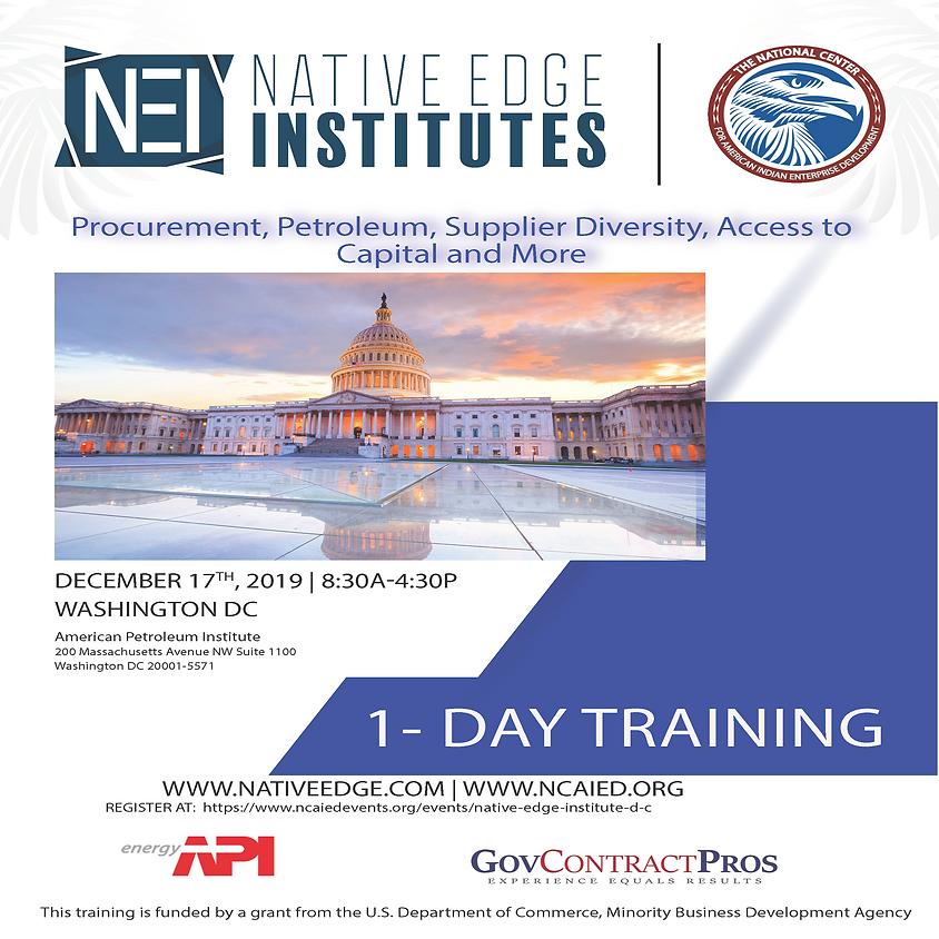 Native Edge Institutes - D.C.