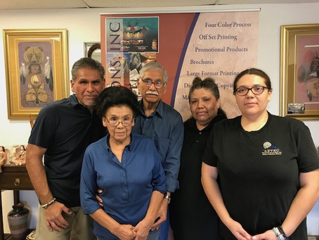 Spotlight on a Native Business: Aztec Printing Solutions Inc.