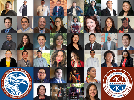 The National Center Announces 2020 Native American 40 Under 40 Award Recipients