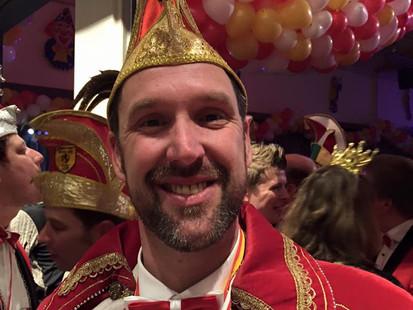 Neuer Prinz in Boke: Prinz Dirk I. Ottensmeier