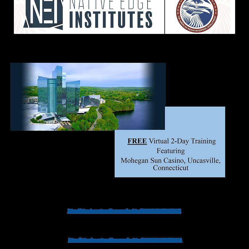 Native Edge Institute - Connecticut Option A ( 10:00 AM - 12:30 AM EDT )