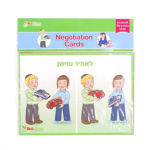 Negotiation Cards Boys (Yiddish)