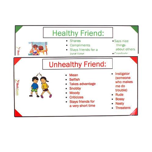 Healthy/Unhealthy Friend