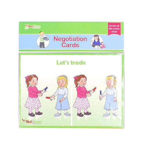 Negotiation Cards Girls (English)