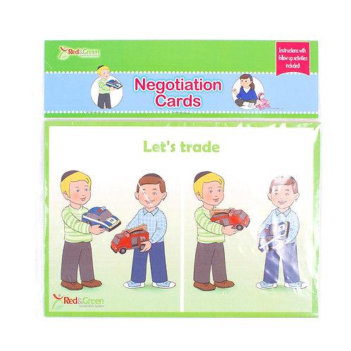 Negotiation Cards Boys (English)