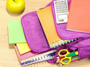 How do I teach my child to have an organized knapsack?