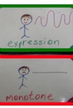 expression vs. monotone