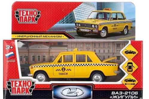 14-410-020 Машина металл ваз-2106 жигули такси 12см. откр.