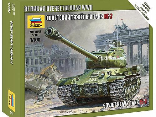 32-6201 Советский тяжелый танк ИС-2 (Звезда)
