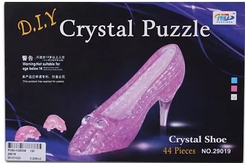10-281-2 Crystal Puzzle Пазлы Туфелька 3D