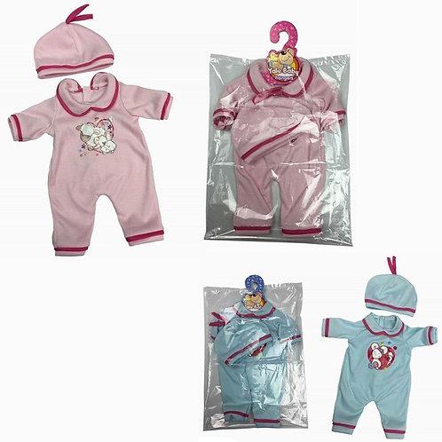 25-312 Комплект одежд сердечко д/куклы 40см. 2 предм.. в асс