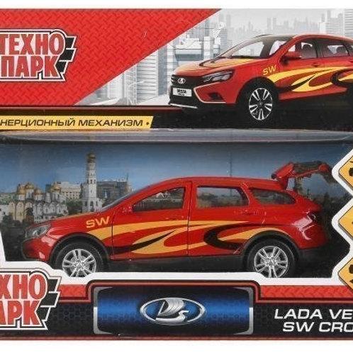 14-416-1 Машина металл LADA VESTA SW CROSS СПОРТ. 12 см