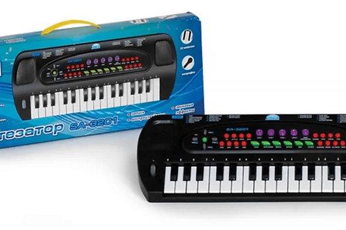 10-571-61 Синтезатор Соната рус.инструк.32 клав.8 ритм