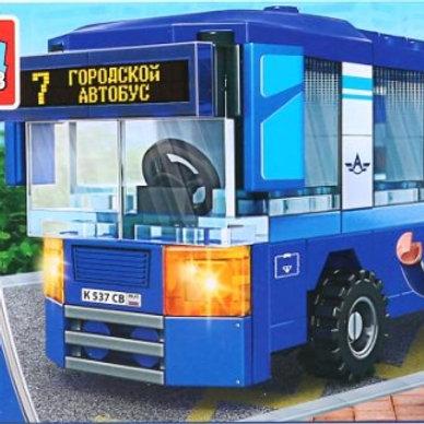 14-289-913 КОНСТРУКТОР ГМ  автобус. 91дет.