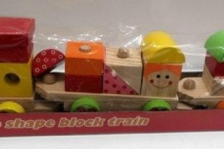 03-773-72 Деревянная игрушка-каталка .Паравозик-конструк(РК)