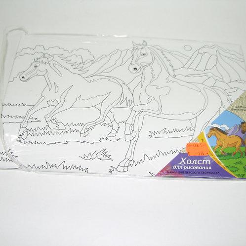03-686-9 Холст на картоне 20х30 см. В АССОРТИМЕНТЕ (РК)