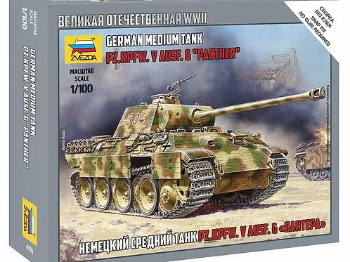 32-6196 Немецкий танк Пантера (Звезда)