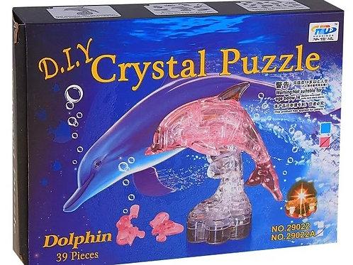 10-280-7 Crystal Puzzle Дельфин