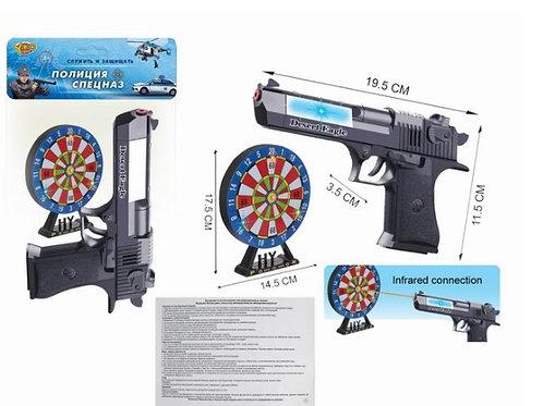 03-207-2 Пистолет (19.5 см) Орел пустыни с мишенью св.зв.