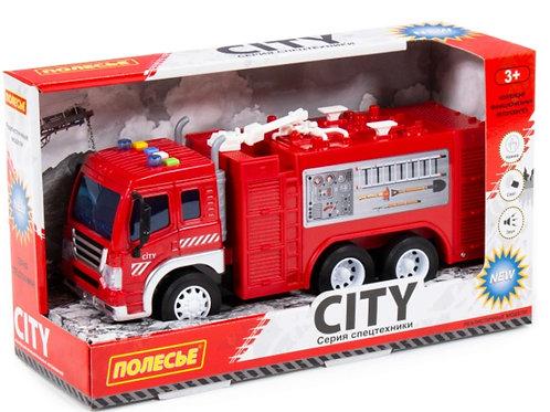 16-130-1 Сити. автомобиль-пожарный инерционный св.зв