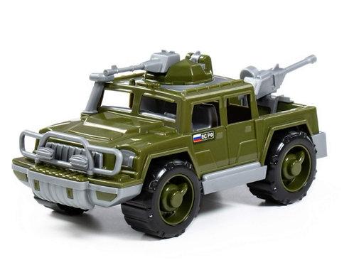16-111-21 Автомобиль-пикап военный Защитник с 2-мя пулемёт