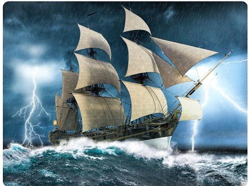 03-688-942 Палитра.Холст с краск.30х40см.Корабль в шторм