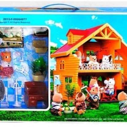 10-402-76 Игрушка домик с мебелью 012-03