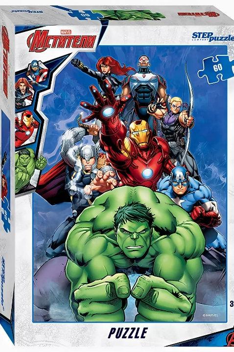 77-81169 Пазл 60 Мстители - 3 (Marvel)