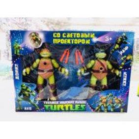 50-666-1 Черепашки TURTLES со светом проектором