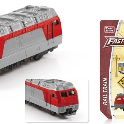 11-339 Поезд метал. М1:64. на блист. 12*15*5 см.