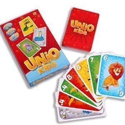 03-469-31 УНИО КИДС КОМПАК(UNOfiesta)  настольная игра.