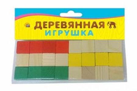 03-770-10 ДЕР. ИГР. ДВЕ ДЮЖИНЫ (24 кубика) (РК)