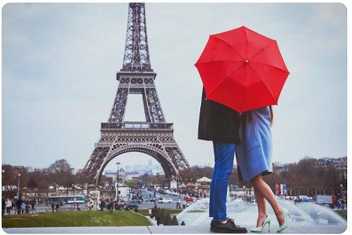 03-688-904 Холст с красками 30х40см.  Пара в Париже