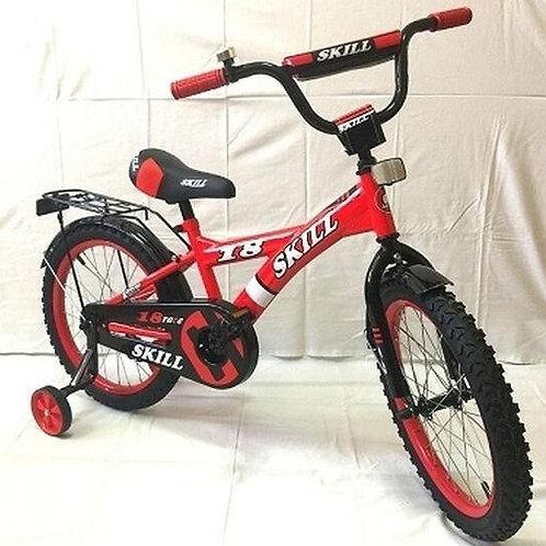 17-121-51 Велосипед детский 16 ZIGZAG SNOKY красный