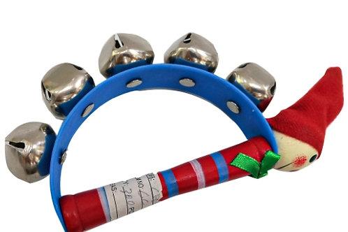 03-783-50 Деревянная игрушка. Погремушка с бубенцами (20 см)