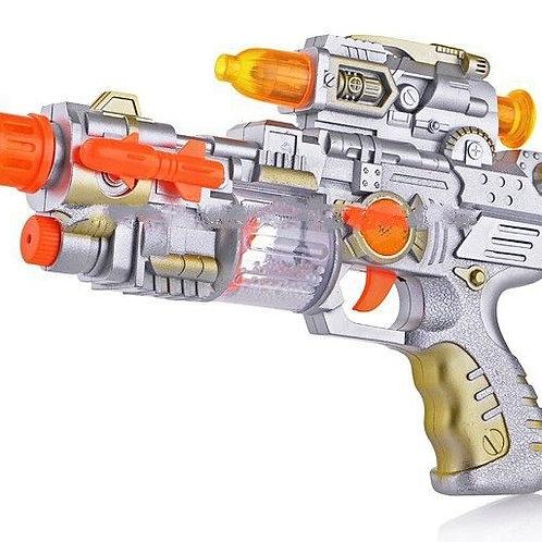 50-126-175 Пистолет озвученный на батарейках