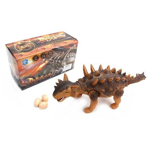 14-138-07 Игрушка на бат. динозавр.свет+звук.несет яйца 9918