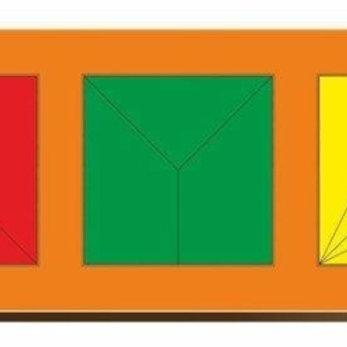 59-110 Рамка вкладыш Сложи квадрат. Никитин. 3 квадрата. ур.