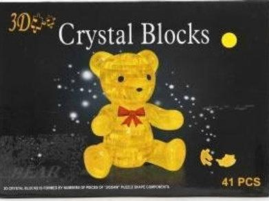 10-281-1 Crystal Puzzle Пазл 3D Мишка 2 цв.