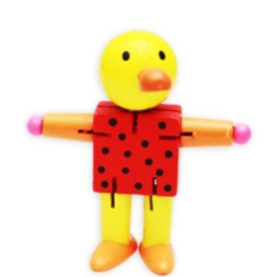 03-771-40 Деревянная игрушка. Дергунчик складной (10 см)