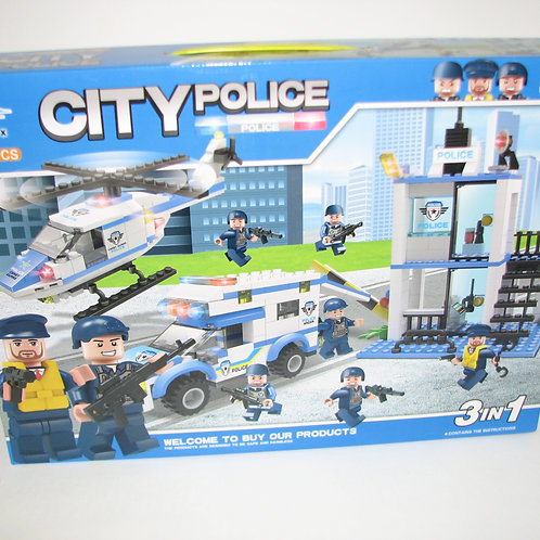 50-099-4 Полицейский участок Cities 395 деталей