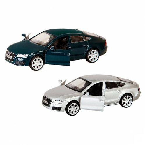 25-226-1 Машина мет. 1:43 Audi A7. откр.двери. цвета (ПМ)