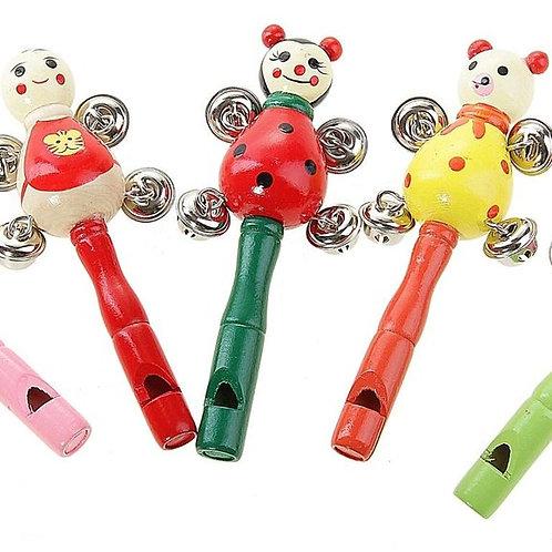 03-783-5 Дер.игрушка. Музык.погремушка с бубенцами  (РК)