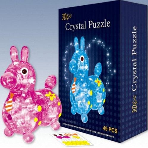 10-282-4 Crystal Puzzle 9030 Пазл ослик R280-H26045