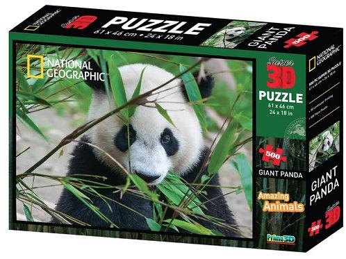 10-288 Пазл Super 3D Большая панда. 500 дет.